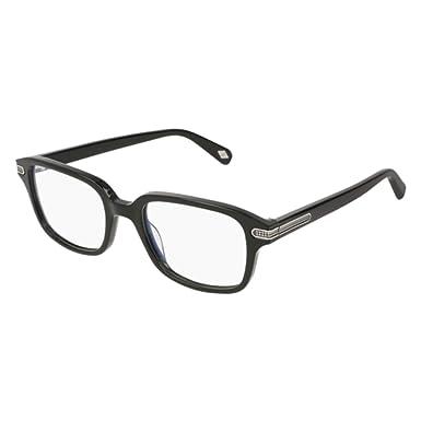 72229a88cad Eyeglasses Brioni BR 0044 O- 001 BLACK   at Amazon Men s Clothing store