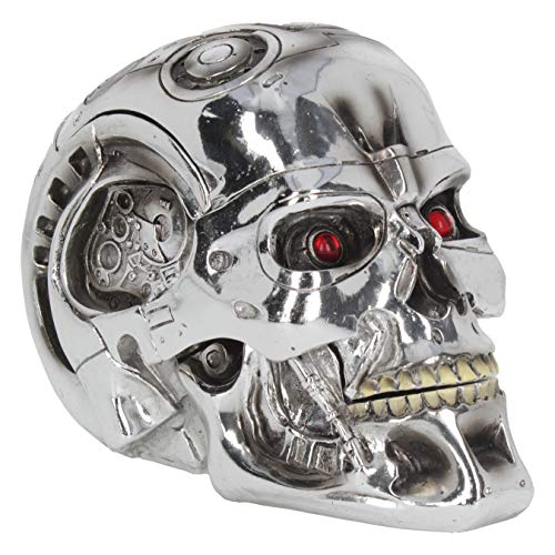 Nemesis Now - Terminator 2 Judgment Day - T-800 head- NOW0949 - IN STOCK - New by Nemesis Now (Terminator T 800 Endoskeleton Life Size Bust)
