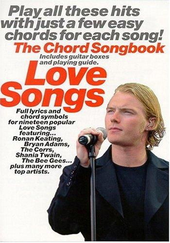 Love Songs The Chord Songbook Lyrics & Chords Book