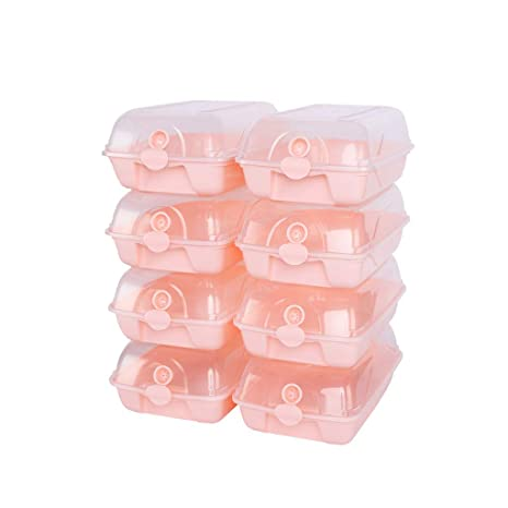 Taotao Caja de Zapatos Transparente Transparente Caja de Almacenamiento de combinación Libre Caja de Acabado de