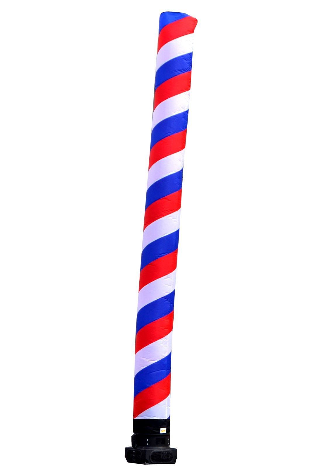 LookOurWay Air Dancers Barber Pole Inflatable Tube Attachment, 20-Feet (No Blower)
