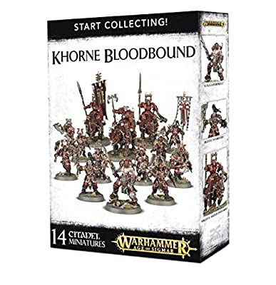 Warhammer Age of Sigmar Start Collecting! Khorne Bloodbound from Agd