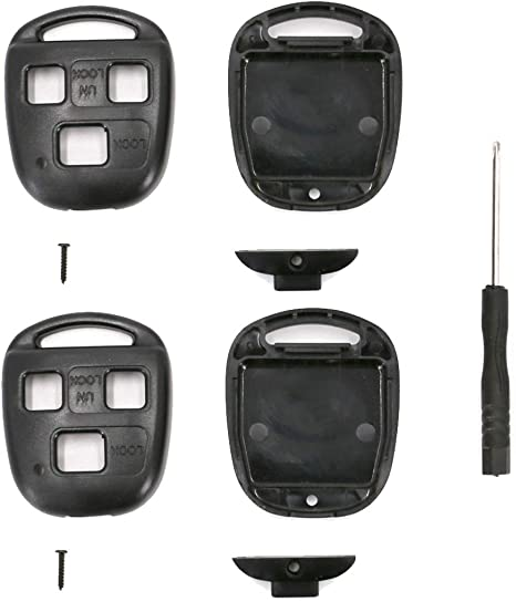Lexus Key Fob Replacement >> Utsauto Replacement For Lexus Key Fob Remote Shell Case Cover Fit For Lexus Es Gs Gx Is Ls Lx Rx Sc Fcc 2 Pack