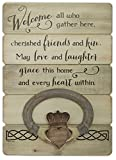 Abbey Gift Irish Welcome Claddagh Wall Plaque Review