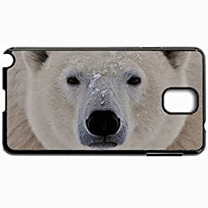 Customized Cellphone Case Back Cover For Samsung Galaxy Note 3, Protective Hardshell Case Personalized Design Bear Black