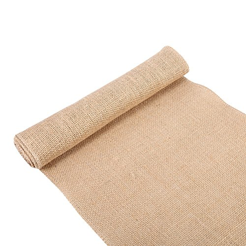 Price comparison product image Burlap Table Runner Natural Vintage Hessian Jute Burlap Ribbon Roll For Christmas Wedding Party Arts Crafts Gift ( Size : 30x200cm )