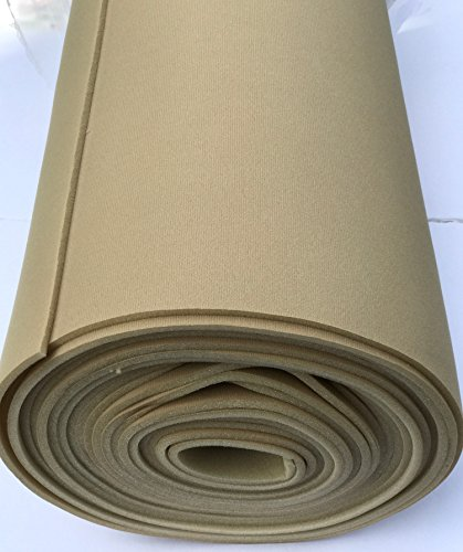 Headliner Doctor DIY repair fabric compatible with Pontiac Grand AM-Light Tan (Headliner+Sunroof(3 yards))