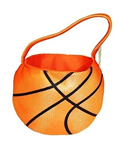 Basketball Plush Sports Basket Easter or Home Decor Dan (Basketball Easter Basket)