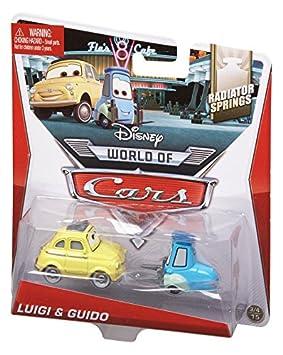 Mini GuidoJeux Jouets Voiture Cars Mattel Luigiamp; Et wPuiTkXZO