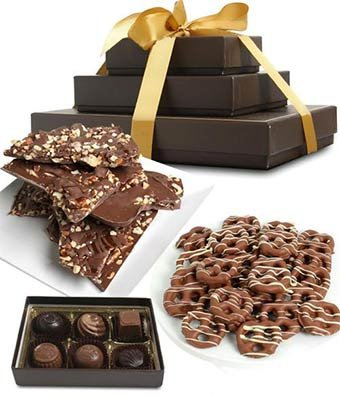 (Gifts - Sweet and Salty Milk Belgian Chocolate Gift)
