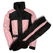 NexGen Women's Rain Suit (Black/Pink, XXX-Large)