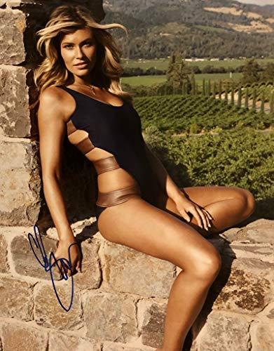 SAMANTHA HOOPES AUTOGRAPHED Hand SIGNED 11x14 Photo w/COA Sports Illustrated Swimsuit Model -