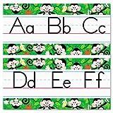 ARGUS Monkey Mischief Jumbo Alphabet Lines Zaner-Bloser Manuscript Bulletin Board Set (T-8224) by Argus