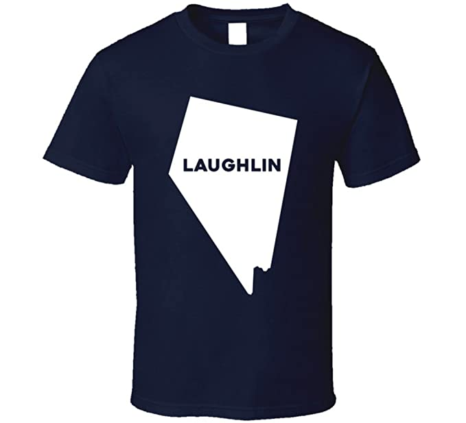 Amazon.com: Laughlin Nevada City Map USA Pride T Shirt: Clothing on