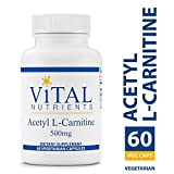 Vital Nutrients - Acetyl L-Carnitine 500 mg - Supports Normal Brain Function - 60 Capsules