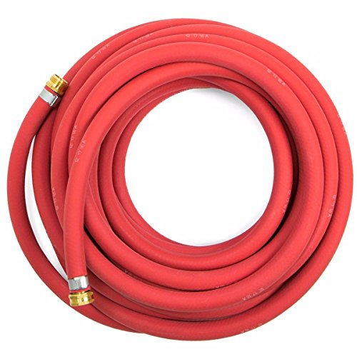 Continental 5/8-inch x 50-feet All-Weather Rubber Water Garden Hose, Made in USA from Continental