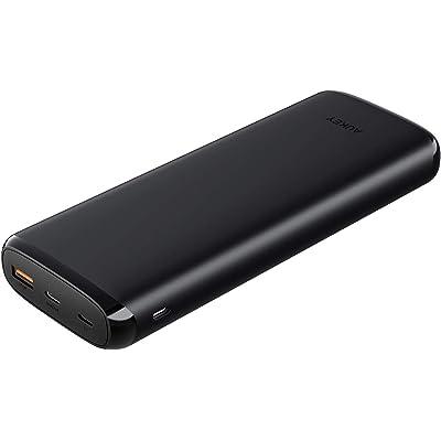 AUKEY PD2.0&QC3.0対応 20000mAh 大容量モバイルバッテリー PB-Y23