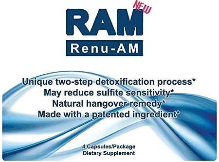 Amazon.com: renu-am: nuevo anti-hangover Prevención y ...