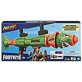 NERF Fortnite Rl Blaster -- Fires Foam Rockets