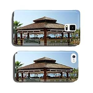 Bar glacier on a Croatian beach cell phone cover case Samsung S6