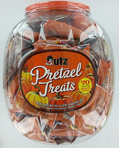 Utz Halloween Pretzels - 70 Bags Per -