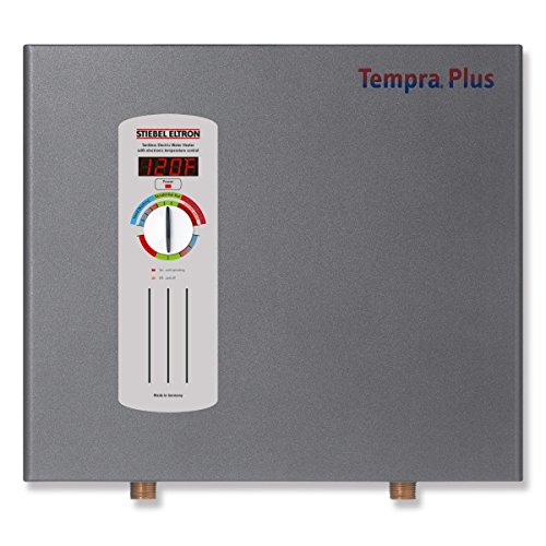 (Stiebel Eltron Tempra Plus 29 kW, tankless electric water heater with Self-Modulating Power Technology & Advanced Flow Control)