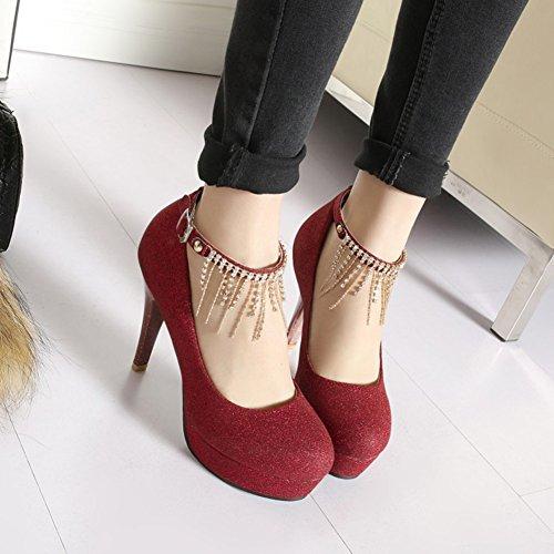 Le Eleganti Scarpe Da Donna In Strass Glitterato Con Cinturino Alla Caviglia E Cinturino Alla Caviglia Con Cinturino Alla Caviglia
