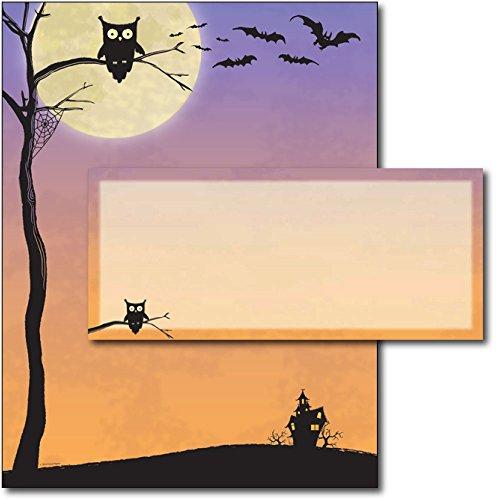 (Halloween Who Letterhead & Envelopes - 40)