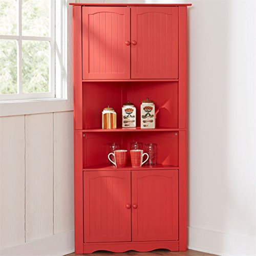 Low Country Sideboard (Brylanehome Country Kitchen Corner Cabinet (Paprika,0))