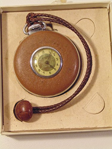 Ingraham Patented Lapel Watch Brown With Leather ()