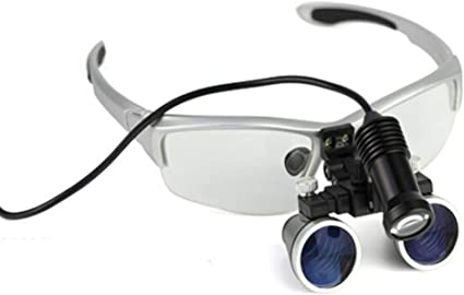 Surgical Lupenbrille Dental Binokularlupen LED Head Light