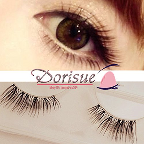 Dorisue H1 5 pairs Mini Corner Half Extension Winged False eyelashes Natural Eye Lashes Extension Handmade