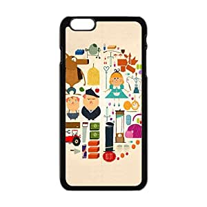 cute circle lovely personalized high quality cell phone case for Iphone 6 Plus