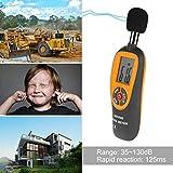 GINZU HT-90A Portable Sound Level Meter Digital LCD Mini Noise Tester 35-130dB Decibel Monitoring Detector Noise Measurement 100% NEW
