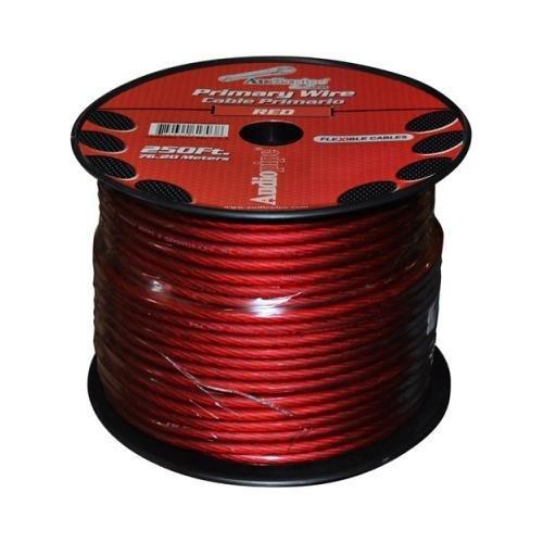 Audiopipe Ps4rd Red Car Audio 4 Gauge 250' Spool