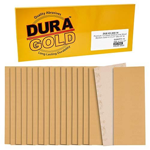 16 Lijas Dura-Gold 11.4cm x 28cm Grano 800