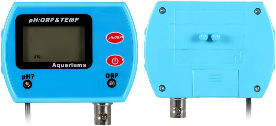Water Quality Tester KK moon Mini Professional 3 in 1 Water Quality Tester Multi-Parameter Water Quality Monitor Online pH//ORP /& Temp Meter Acidometer Water Quality Analysis Device