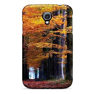 Galaxy S4 Case, Premium Protective Case With Awesome Look - Forest Road