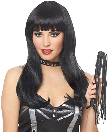 Costume Culture Women's Mistress Wig Deluxe, Black, One Size -