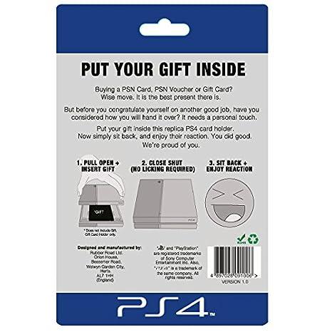 Amazon.com: Réplica Consola PS4/titular de la tarjeta de ...