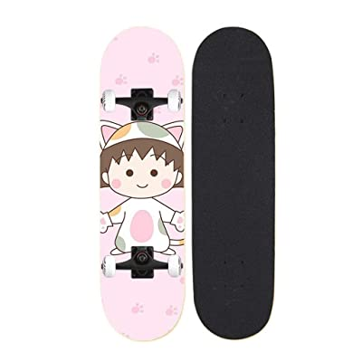 Aniseed Skateboards Cruiser Longboard Deck Skateboard Complete 31 Inch Cute Little Balls : Sports & Outdoors [5Bkhe1207145]