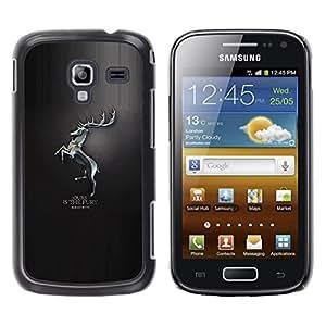 LECELL--Funda protectora / Cubierta / Piel For Samsung Galaxy Ace 2 -- La nuestra es la Furia Baratheon --