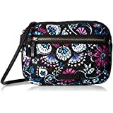 Vera Bradley Women's Signature Cotton RFID Little Crossbody Purse