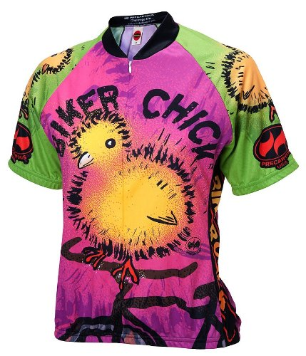 c8fb9090f Amazon.com   World Jerseys Women s Biker Chick Cycling Jersey ...