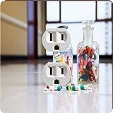 Rikki Knight 8871 Outlet Medical Capsules & Tablets in Bottle Design Outlet Plate