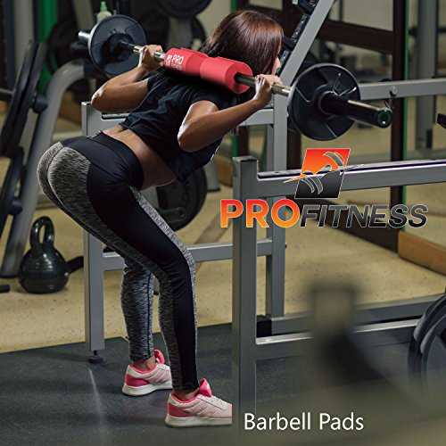 Profitness barbell pad squat exercise for