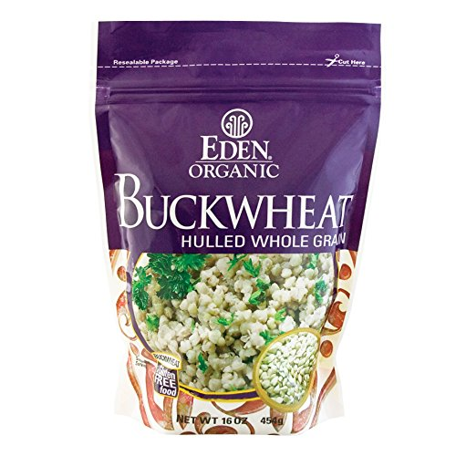 EDEN Buckwheat, Hulled Whole Grain,16 -Ounce Pouches (Pack of 12) by Eden