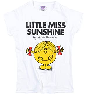 c75b01020335 Womens White Little Miss Sunshine T Shirt - 70s Fairytale and Story Tees
