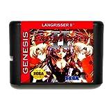 Taka Co 16 Bit Sega MD Game Langrisser II 16 bit MD Game Card For Sega Mega Drive For Genesis