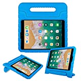 BFTOP 2018/ 2017 New iPad Case for Kids with Handle Stand Lightweight Shock Proof Cover for iPad 9.7 Inch 2018/ 2017 New, iPad Air, iPad Air 2 Tablet - Blue